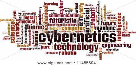 Cybernetics Word Cloud