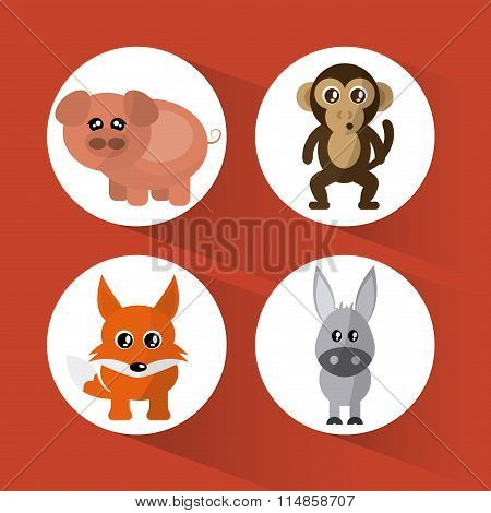 Animal cartoon design
