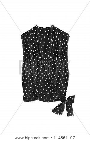 Black Blouse Isolated