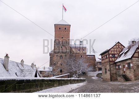 Inner Yard Of Nuremberg Castle
