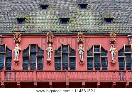 Red Facade, Freiburg, Germany