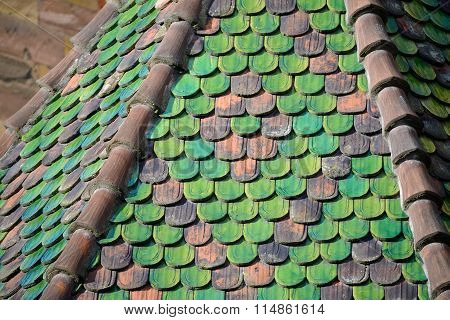 Colourful Tiled Roof