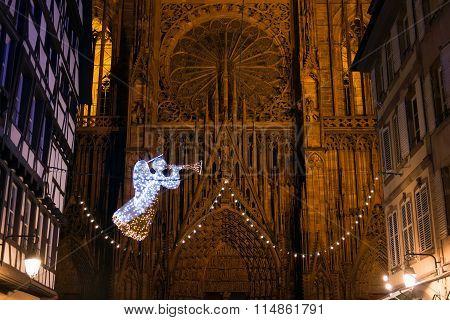 Angel Of Strasbourg, France