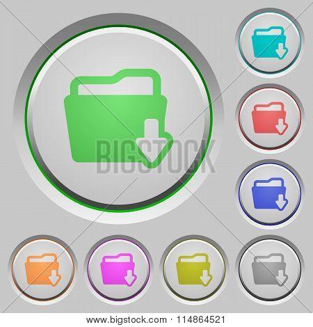 Folder Download Push Buttons
