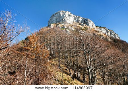 Mount Klak, Autumnal View From Mala Fatra Mountains