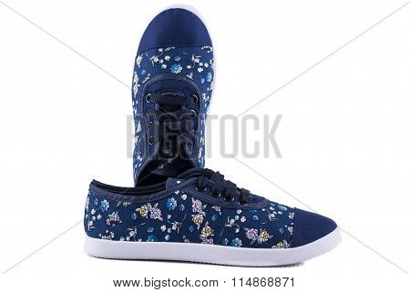 shoes whit flowers