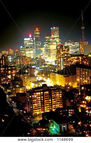 Toronto in der Nacht