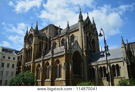 Old London church