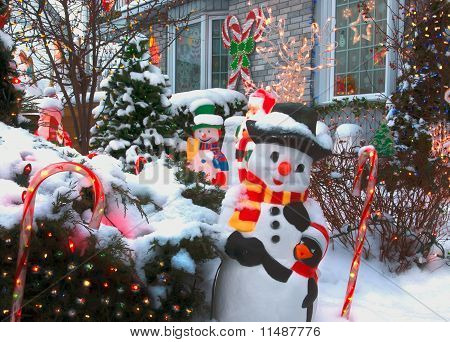 Frosty Funhouse