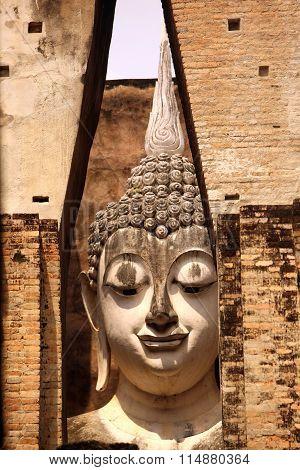 Asia Thailand Sukhothai Temple, Wat Si Chum