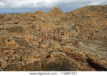 Lava on Lanzarote