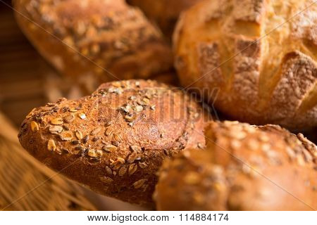 Baskets Of Bread