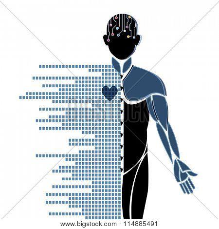 Robotic Male futuristic research developments