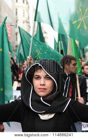 Circassian activist group