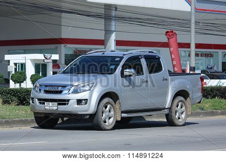 Private Pickup Car, Isuzu Dmax.