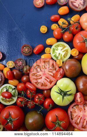 Medley Of Tomato Varieties