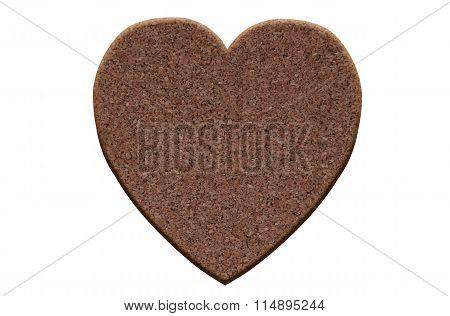 Valentine Made Of Cork