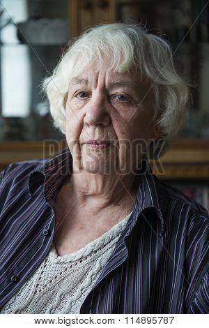 Senior woman.