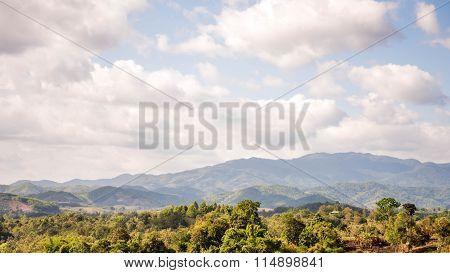 Viewpoint At Chiangrai