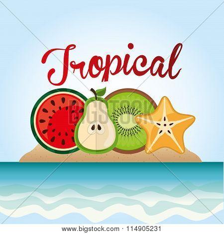 tropical paradise design