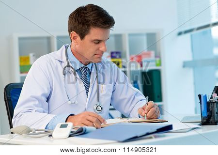 Physician At Work