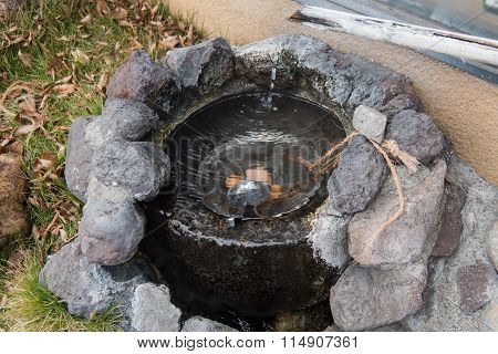 Small Beautiful Hot Spring