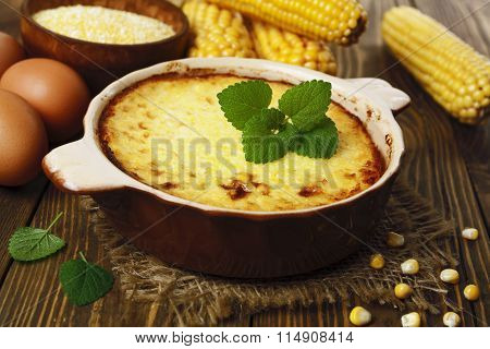 Casserole Of Corn Groats