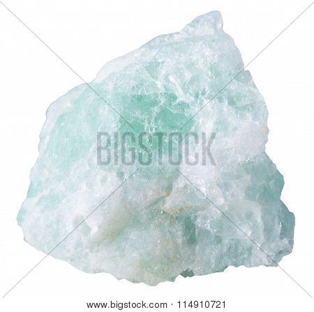 Piece Of Fluorite (fluorspar) Mineral Stone