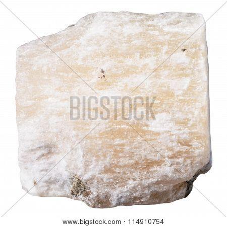 Specimen Of Gypsum (alabaster) Mineral Stone