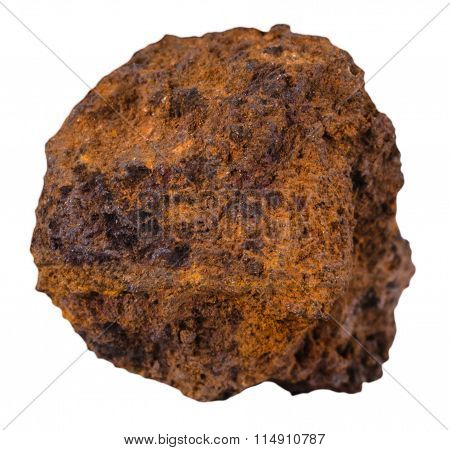 Piece Of Brown Limonite (bog Iron Ore) Mineral