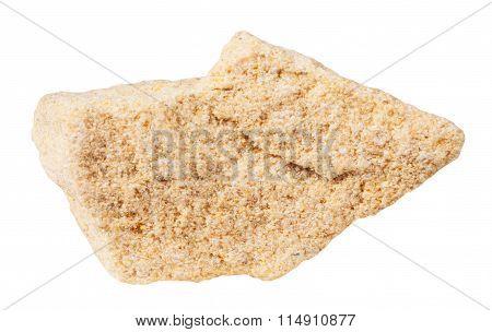 Specimen Of Sandstone (arenite) Mineral Stone