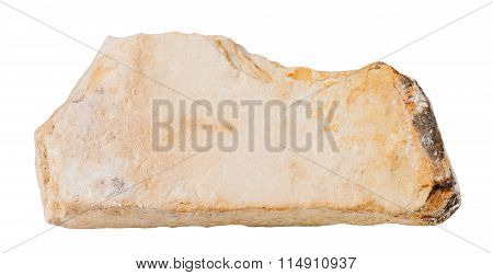 Shale Mineral Stone Isolated On White