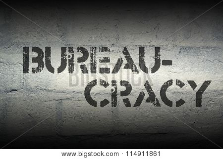 Bureaucracy Word Gr