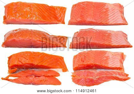 Smoked Atlantic Salmon And Salted Trout Pieces