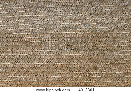 Woven Rattan With Natural Pattern