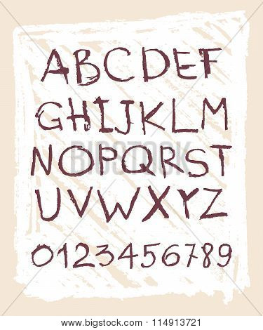 Handwritten English Alphabets And Digits