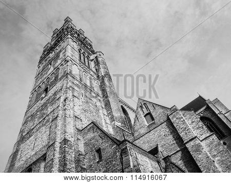 St. Salvator's Cathedral in belgian Bruges