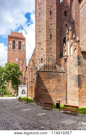 Saint John the Evangelist Cathedral, Kwidzyn, Pomerania, Poland