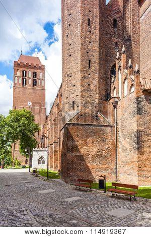Saint John the Evangelist Cathedral, Kwidzyn, Pomerania, Poland