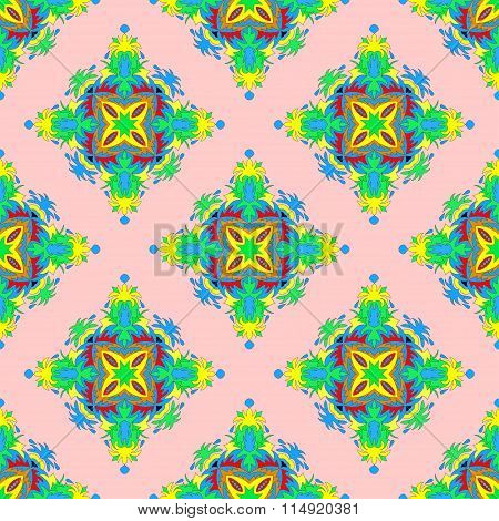 Beautiful Seamless Pattern. Decorative Elements.