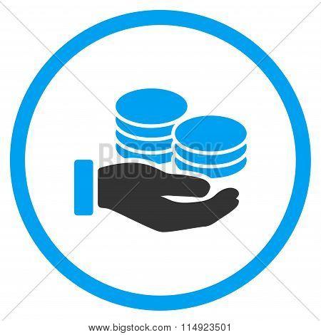 Salary Flat Icon