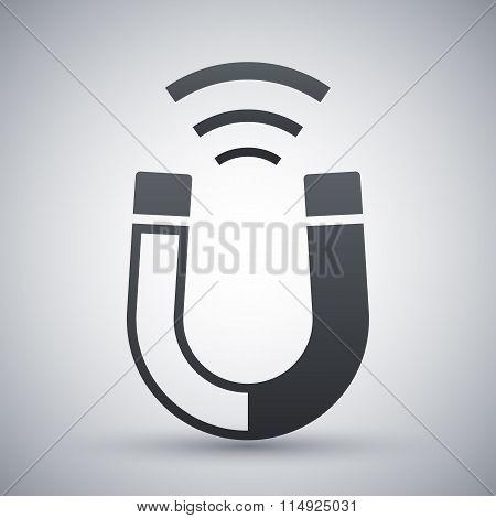 Magnet Icon, Stock Vector
