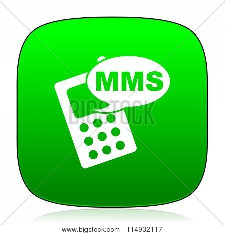 mms green icon