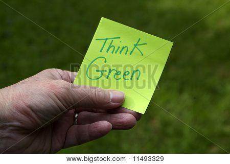 Pensar verde