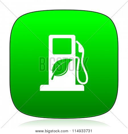 biofuel green icon