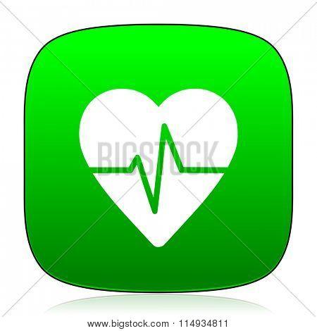 pulse green icon