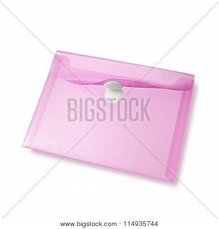 Pink Color Envelope