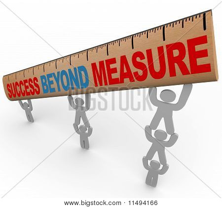 Success Beyond Measure - Team Lifting Ruler