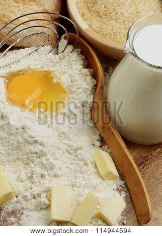 Preparing Homemade Dough