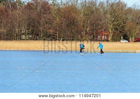 Skating In Coastline